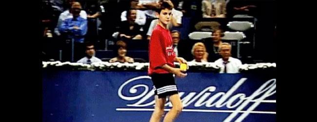 De recogepelotas al mejor tenista de la historia