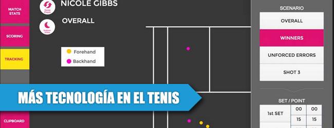 iPads, con coaching y micrófonos en la WTA
