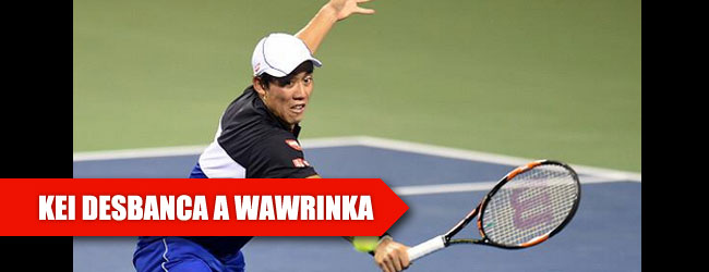 Nishikori irrumpe en el TOP 4