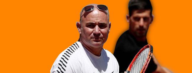 Novak en su versión diseñada por Agassi