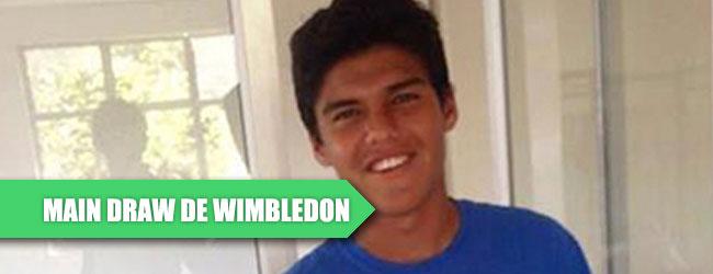 Tres mexicanos en el cuadro principal de Wimbledon junior