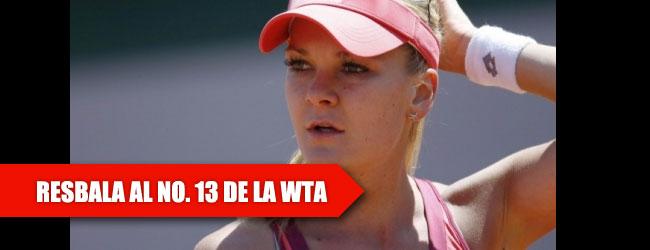 Radwanska se cae del TOP 10