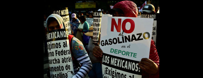 """El """"gasolinazo"""" del deporte mexicano"""