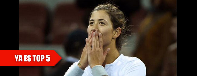 Muguruza sigue en ascenso