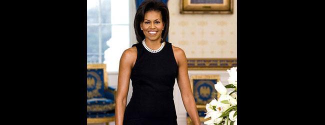 Michelle Obama promueve los beneficios del tenis en el US Open 2011