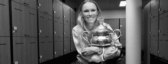 Caroline Wozniacki la mejor tenista danesa de la historia