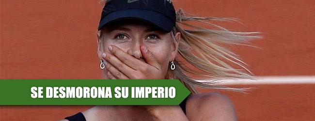 Nike, Porsche y TAG Heuer abandonan a Sharapova, sólo Head la respalda