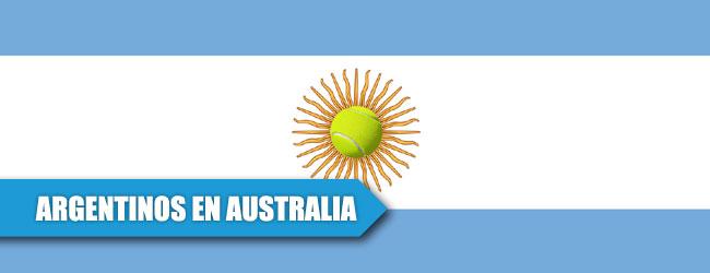 """El factor """"TRIPLE A"""": Argentinos en el Abierto Australiano"""