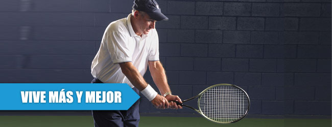 Jugar tenis aumenta tu expectativa de vida en un 47%