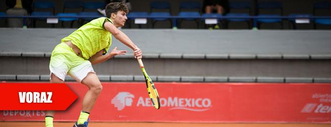 Kecmanovic, semifinalista de 17 años en San Luis Potosí