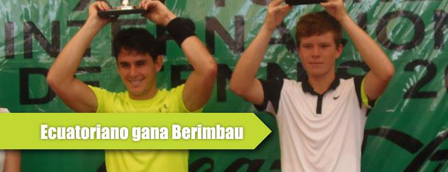 "Iván Endara venció al ""Chico Maravilla"" Stefan Kozlov en la final de Berimbau"