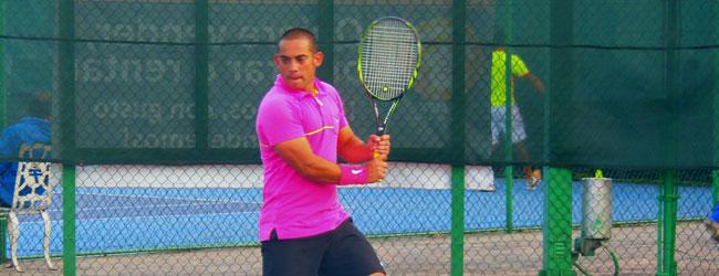 Jorge Vargas, doble campeón en la Copa Futurama de Tenis