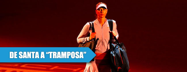 Polémico regreso de Sharapova