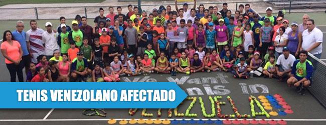 Crisis golpea al tenis venezolano