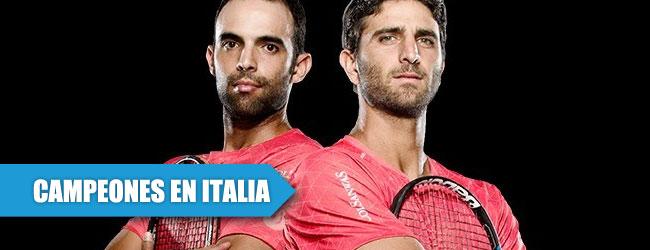 Hispanoparlantes dominan el dobles en el Masters 1000 de Italia