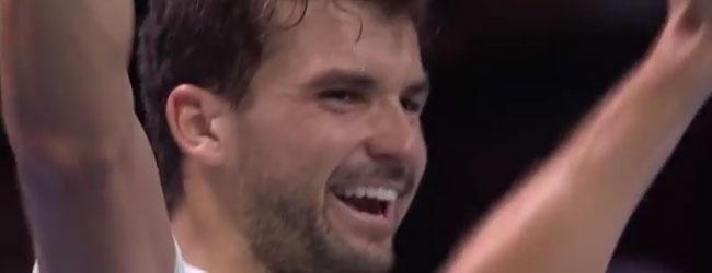 En la Final ATP 2017 se corona Grigor Dimitrov
