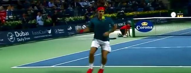 El repertorio de Roger Federer
