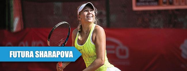 Anisimova, la futura Sharapova de 15 años, ya (casi) TOP 500 de la WTA