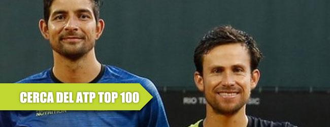Rodríguez y Reyes Varela, ¿TOP 100 en dobles?
