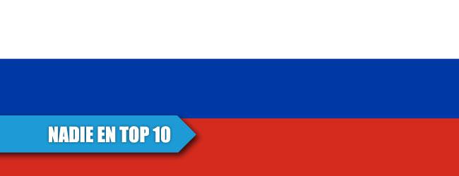Rusia se queda sin TOP 10