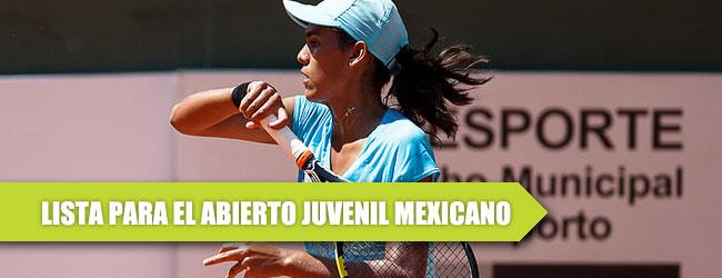 Tenis México, unido en torno al Abierto Juvenil Mexicano 2016