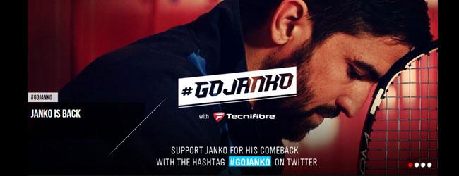 Campaña en Twitter del regreso de Tipsarevic
