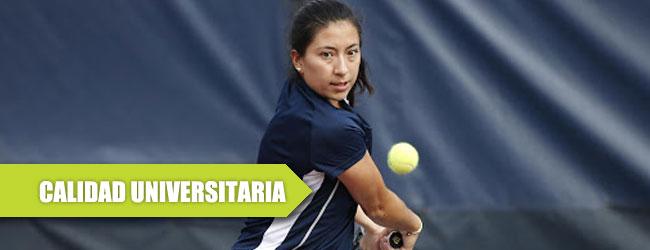 Miranda Rodríguez en el tenis universitario estadounidense y continúa la fiesta en Monterrey