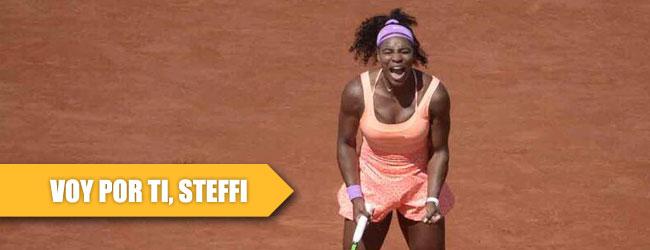 Serena ahora va por Steffi Graf
