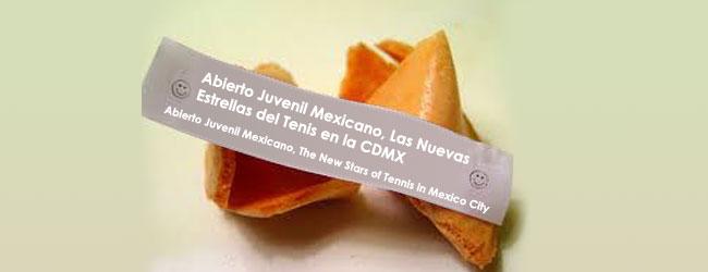Abierto Juvenil Mexicano, Las Nuevas Estrellas del Tenis en la CDMX