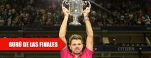 Wawrinka, Grand Slam por año desde 2014