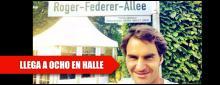 Federer hace historia en Halle