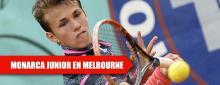 Brillante prospecto del tenis húngaro conquista el Abierto Australiano Junior 2017