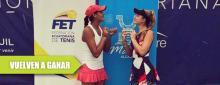 Tripleta de mexicanos con títulos en dobles