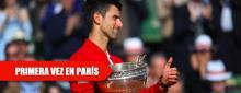 Djokovic acaba con su maldición en Roland Garros