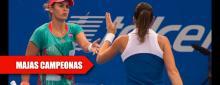 Españolas reinas de los dobles en México y en camino a Río 2016
